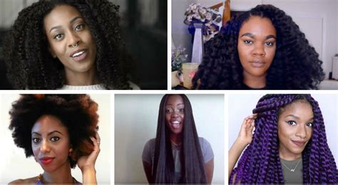 what type of hair can be crochet crochet braids everything you need to know un ruly