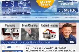 Big Blue Plumbing by Big Blue Plumbing On Dwight Way In Berkeley Ca 510 516