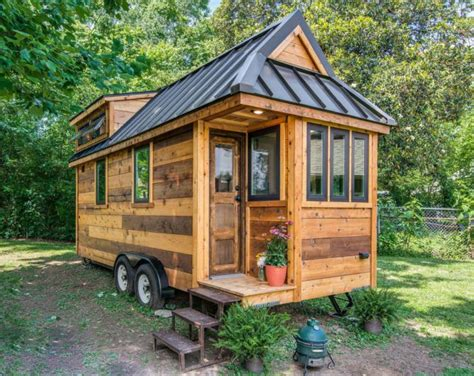 cedar mountain tiny house affordable option from new frontier tiny house