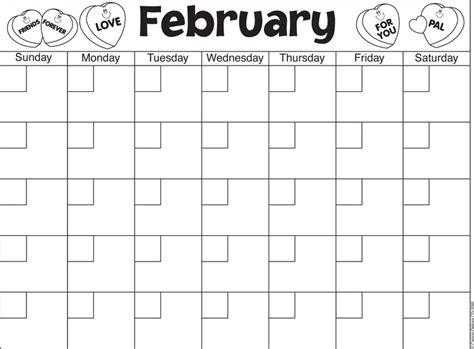 printable calendar kindergarten carson dellosa printable calendars february calendar