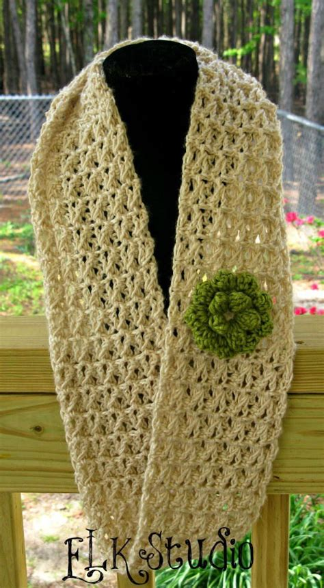 summer infinity scarf crochet pattern delicate summer scarf allfreecrochet
