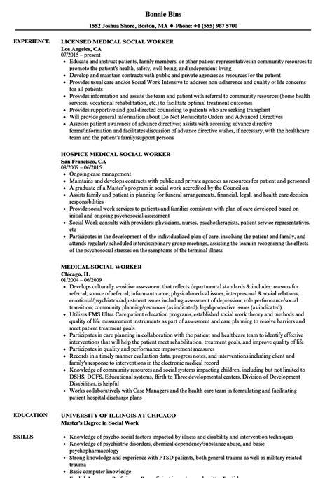 Resume Templates For Healthcare Workers social worker resume sles velvet
