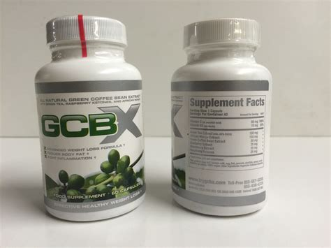 Green Bean Coffee Dietary Supplement Kapsul green coffee bean extract gcbx only 163 1 00