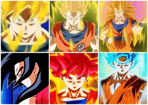 imagenes de goku con todas sus fases how do you prefer anime amino