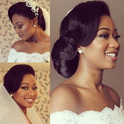5 interesting wedding hairstyles with puff black women 5 must have wedding straight medium hair black women