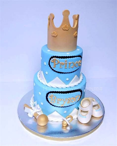 Prince Baby Shower Cakes by Prince Baby Shower Cake Cakecentral