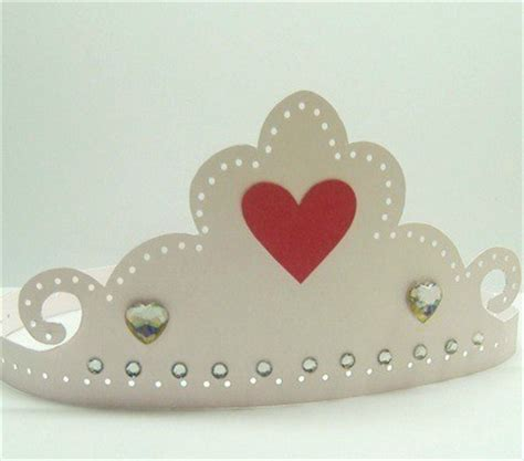 How To Make A Paper Princess Tiara - a paper tiara thriftyfun