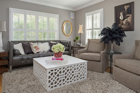 Requisite Gray Dining Room Requisite Gray Sw 7023 The Home Coloriste