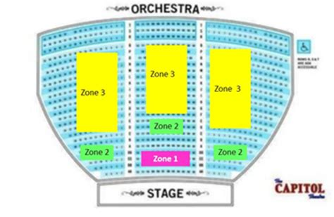capitol theatre port chester seating chart capitol theater port chester seating chart venue info