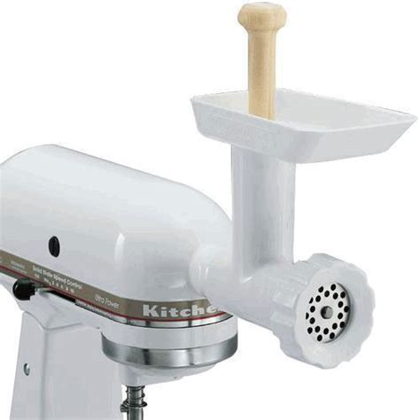 Kitchenaide Mixer Attachments by Kitchenaid Fga Mixer Food Grinder Attachment For