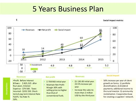 free 5 year business plan template 5 years business plan sle images