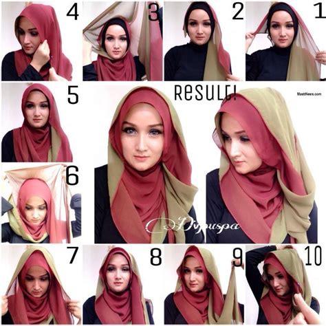 tutorial hijab pashmina simple tanpa menggunakan jarum 8 tutorial hijab yang bisa kamu coba tanpa menggunakan