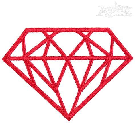 embroidery design diamond diamond shine bright embroidery designs