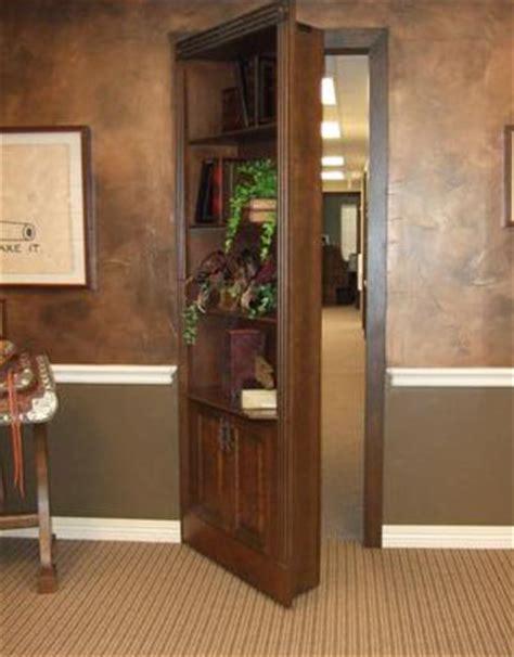 how to build a hidden door bookcase diy swinging bookcase door plans free