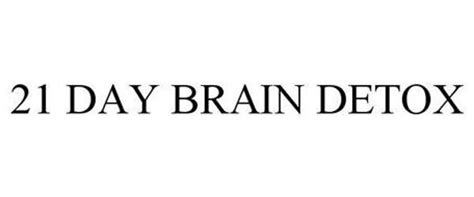 21 Day Mind Detox 21 day brain detox trademark of swoyb properties lp