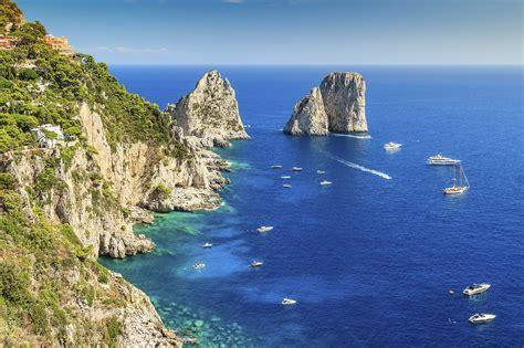 Colorful Beach Houses by Hiking Tour In Italy Amalfi Coast Positano Ravello Capri