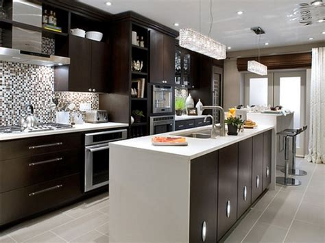 modern interior kitchen design kitchen pictures of modern painted kitchens design black cabinet white island tracking