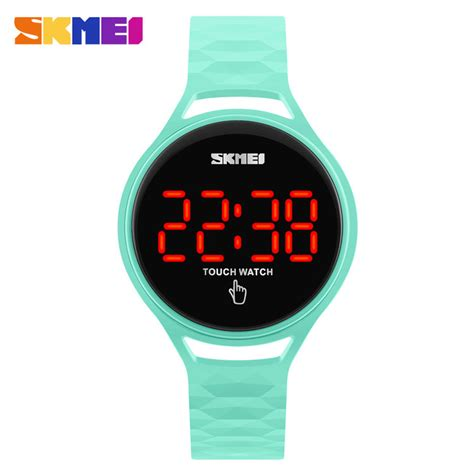 Skmei Jam Tangan Led Touch 1230a Gb skmei jam tangan led touch wanita 1230a green