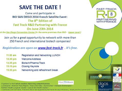 save the date business event templates june 2014 biobeach