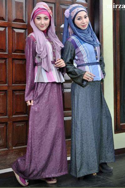 Tunik Tangan Panjang Kombinasi Warna Shelby Abu Abu Tua rumah madani busana muslim koleksi butik