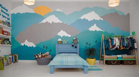diy wall mural ideas   paint   day diy