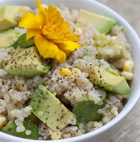 Corn Detox Diet by Nutritionist Snyder S Quinoa Avocado And