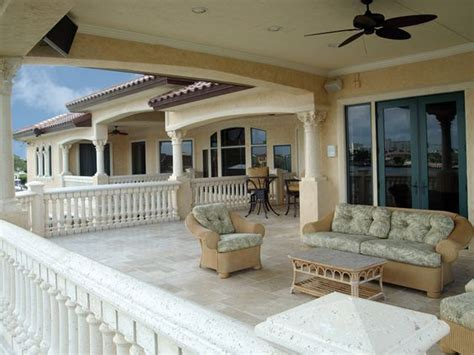 2nd floor balcony plans painters hill luxury home florida houses adobe and