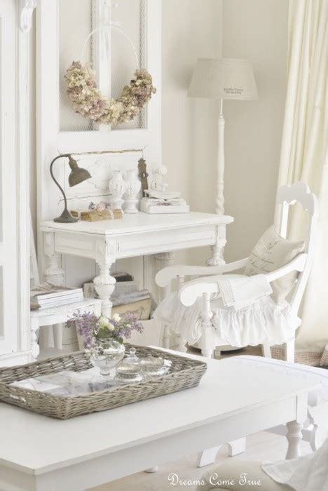 white shabby chic decorating decorating ideas