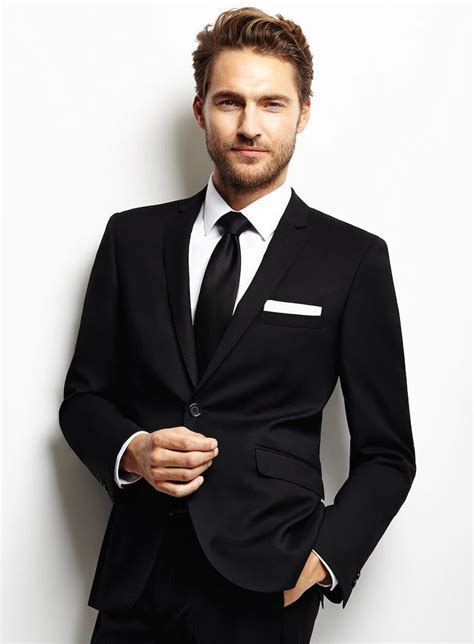 20 Best Black Suit For Men   Men's Fashion   Black suit