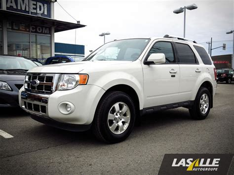 used 2012 ford escape 2012 ford escape limited for sale montreal 2012 ford