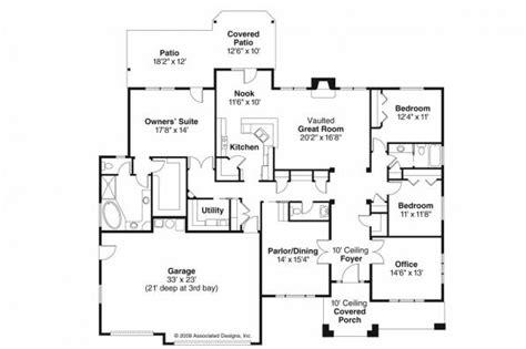 prairie style floor plans prairie style house plans creekstone 30 708 associated