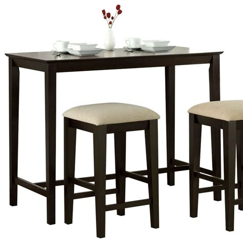 monarch specialties 48 x 24 counter height kitchen table