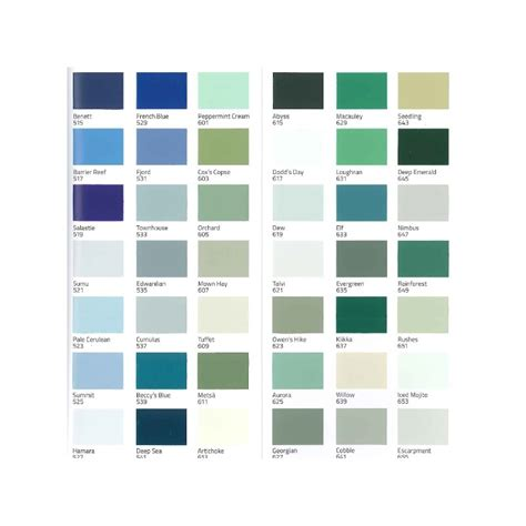 teknos colour mode colour card for interior and exterior paints