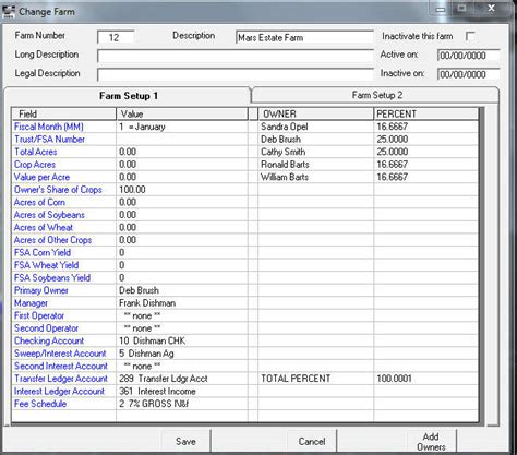 Accounting Budget Template farm accounting spreadsheet