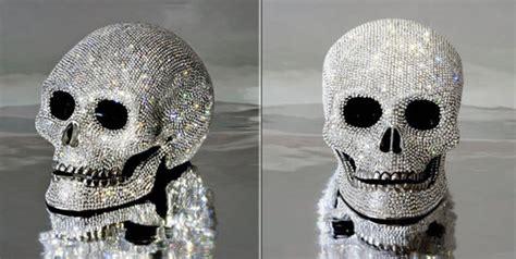 Umano Vero Swaroski swarovski studded quot skull quot up for grabs business