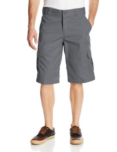 men s distressed stretch twill shorts dickies men s 13 inch relaxed fit stretch twill cargo