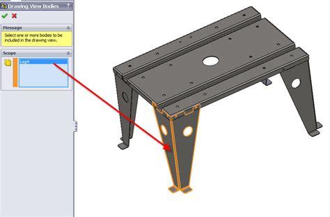 flat pattern views for sheet metal multi body parts flat pattern views for sheet metal multi body parts