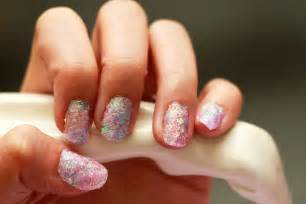 how to create fake nails out of glitter 13 steps with
