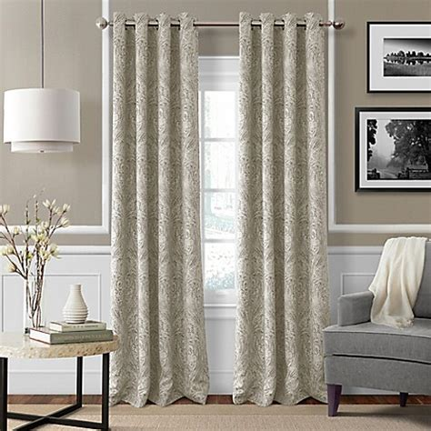 95 Blackout Curtains Buy Julianne 95 Inch Blackout Grommet Top Window Curtain Panel In From Bed Bath Beyond