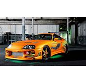 Vehicles Tuning Toyota Supra Green Neon The Fast And