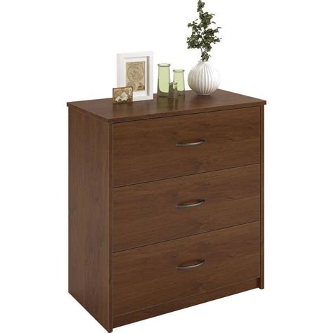 Bedroom Dresser Drawers 3 Drawer Dresser Chest Bedroom Furniture Black Brown White Storage Wood Modern Ebay