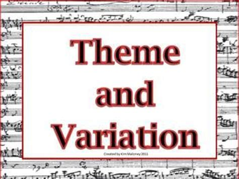 education theme music theme and variations student centered resources the o