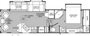 fleetwood 5th wheel floor plans 2005 fleetwood prowler regal ax6 fifth wheel rvweb com