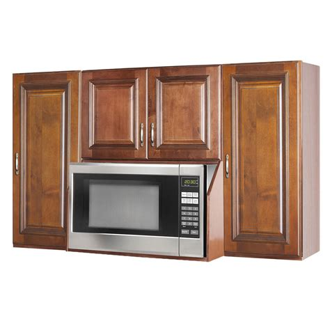 microwave in kitchen cabinet brandywine microwave wall cabinet unit ebay