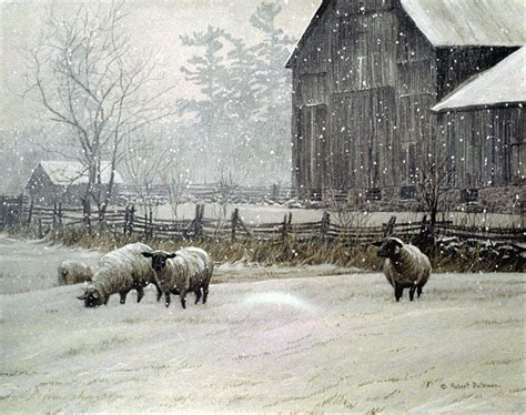 Painting Houses by Robert Bateman Paintings