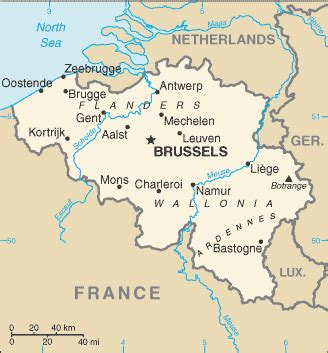 belgium rivers map belgium wikitravel