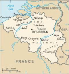 map of belgium belgium wikitravel