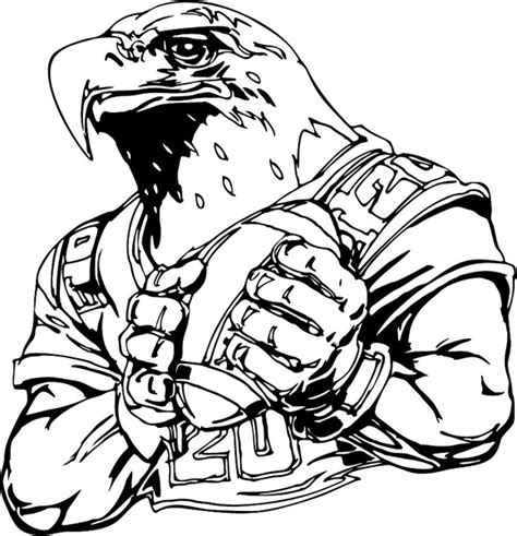 nfl eagles coloring pages philadelphia eagles football coloring pages free