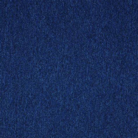 Blue Floor by Paragon Workspace Loop Pile Carpet Tile Colour Blue