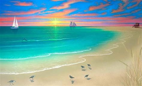 contoh seni lukisan lanskap gambar pemandangan